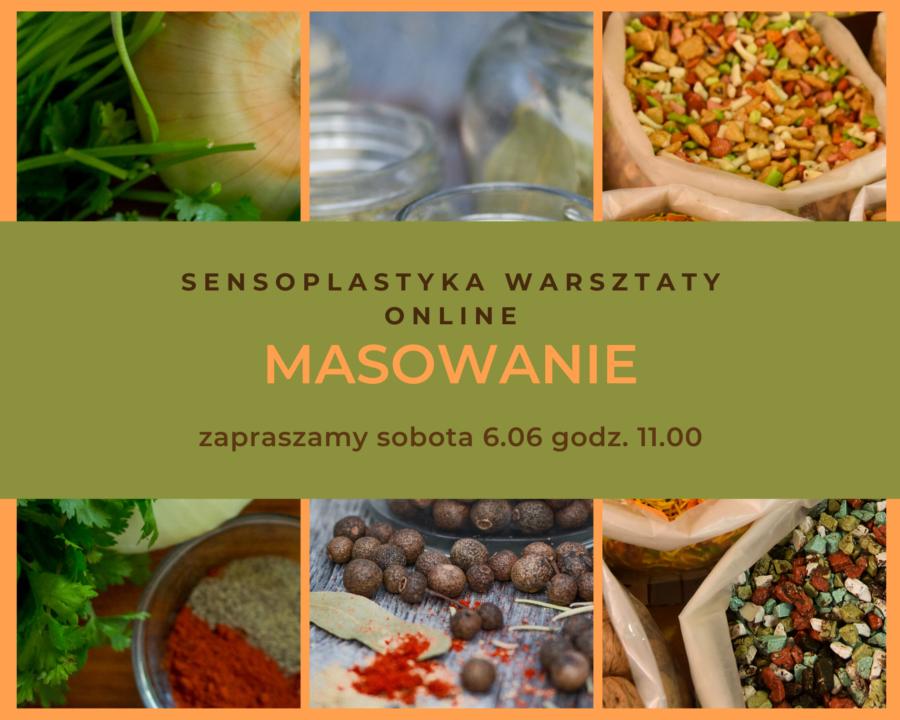 MASOWANIE – Sensoplastyka – Warsztaty Online!